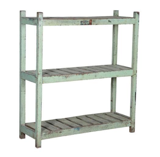 Vintage Indian Open Shelf Unit - 3 Tier 358