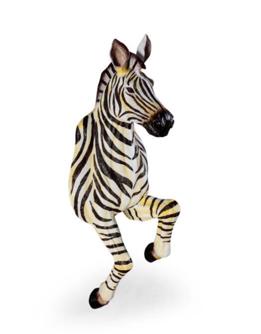 Running Zebra Wall Figure