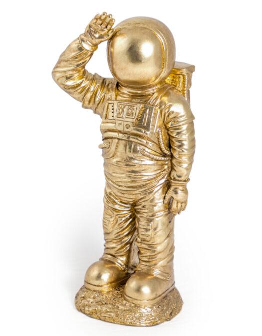Gold Standing Astronaut Figure