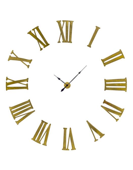 "Antiqued Gold Battersea"" Numeral Clock"""