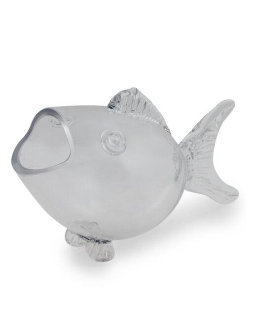 Small Glass Fish Shaped Bowl