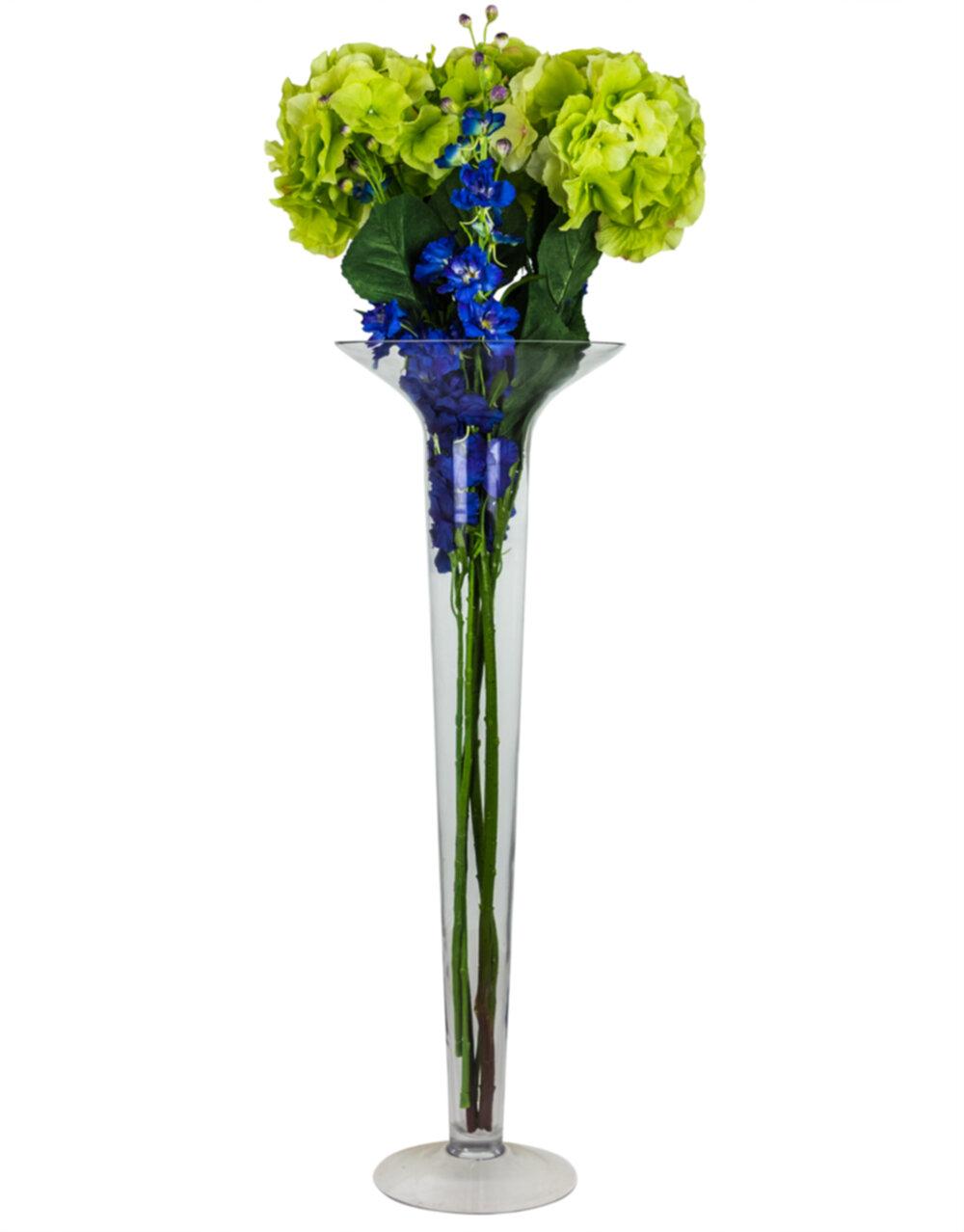Extra Large Glass Stem Vase