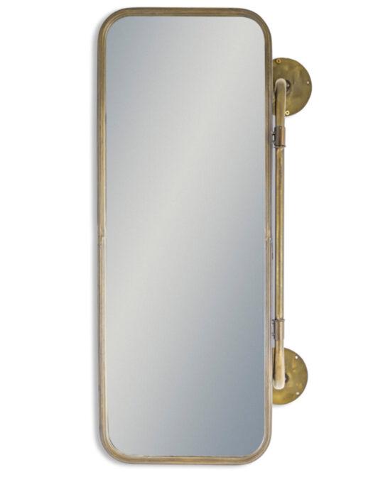 Industrial Hinged Storage Mirror