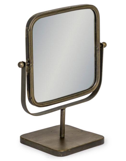 Industrial Adjustable Table Mirror