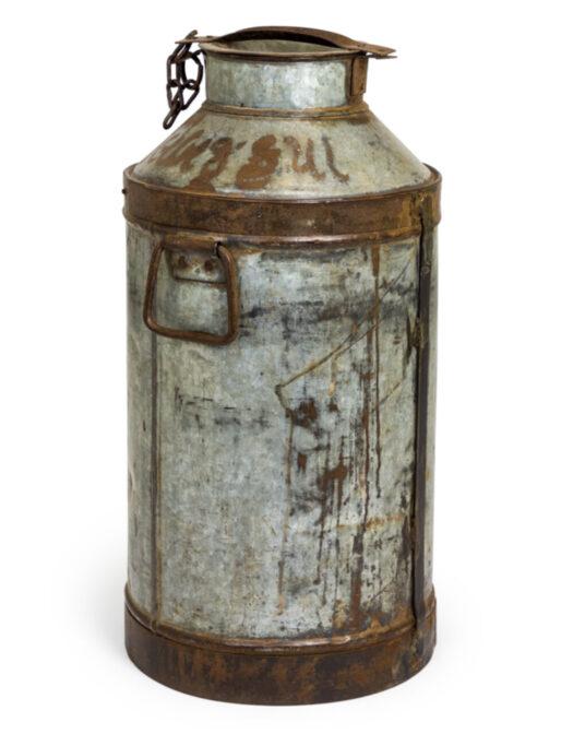 Upcycled Metal Milk Urn