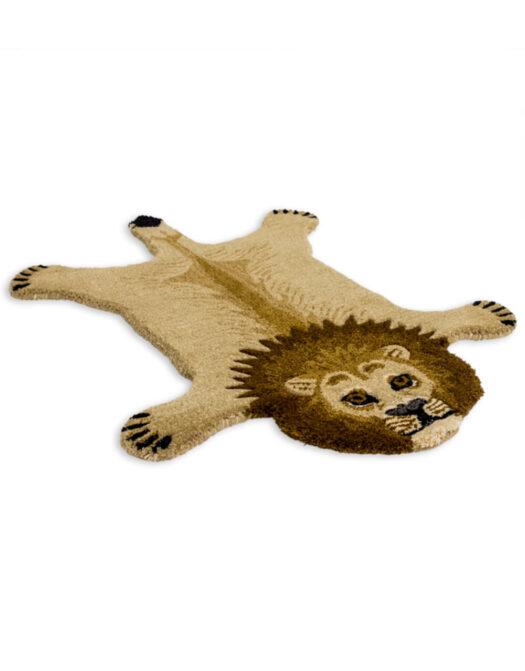 "Hand Tufted Small Lion Skin"" Woollen Rug"""