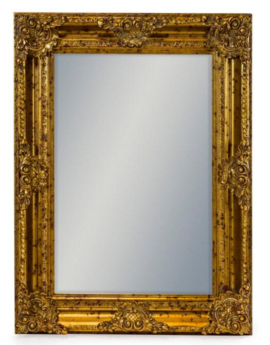 Gold Rectangular Classic Mirror