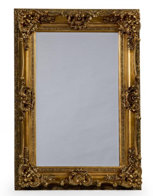 Antique Gold Small Regal Mirror