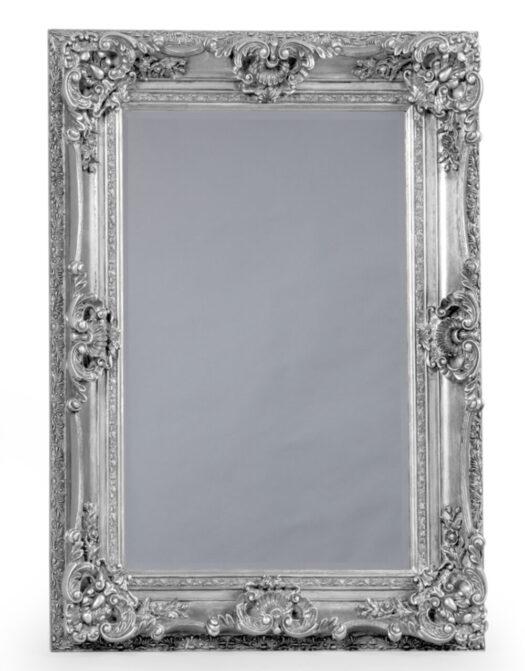 Antique Silver Small Regal Mirror