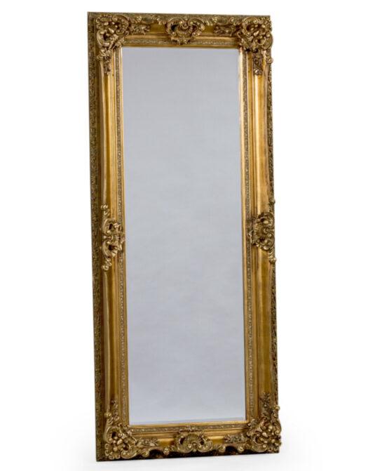 Antique Gold Tall Regal Mirror