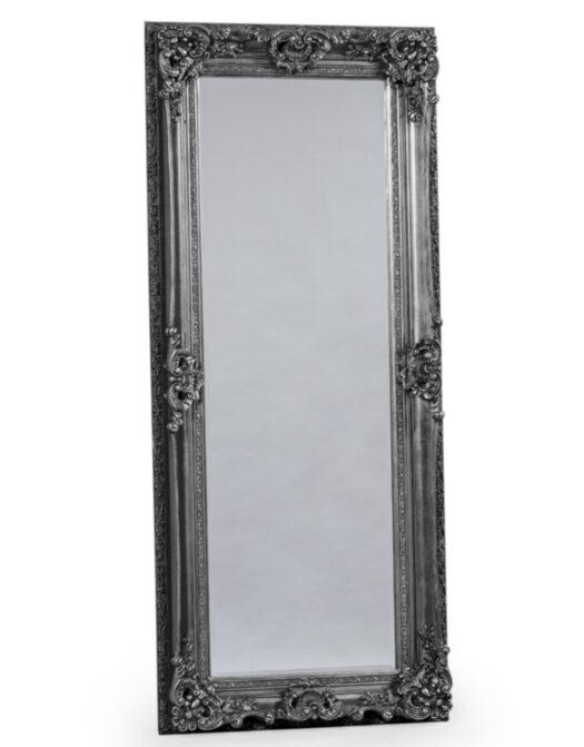 Antique Silver Tall Regal Mirror