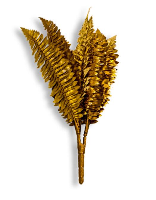 Metallic Gold Boston Fern