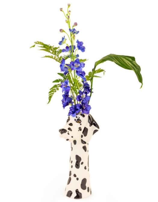 Ceramic Dalmatian Head Vase